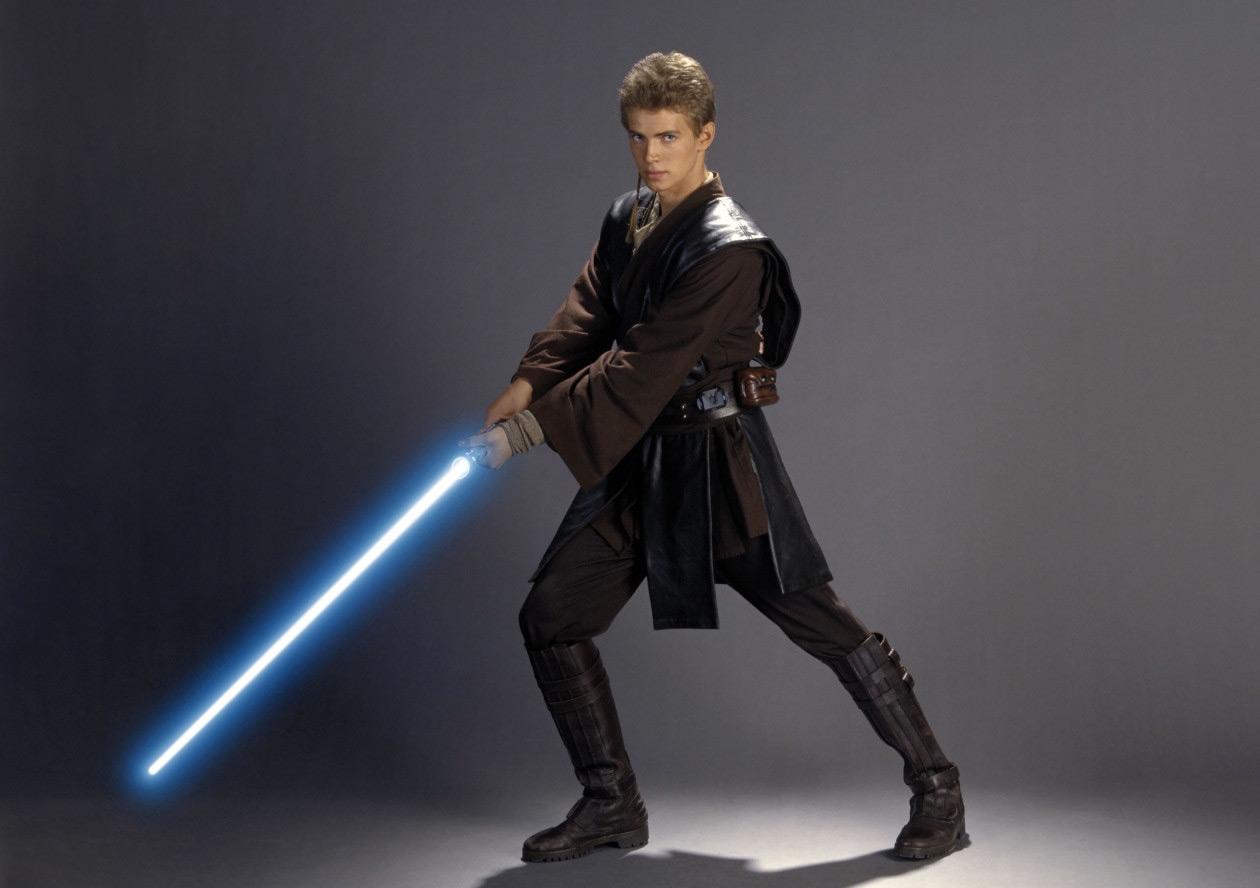 Sticker other star wars anakin skywalker jedi padawan sabre laser