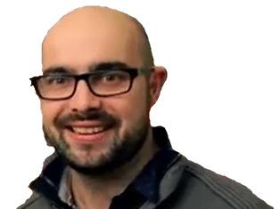 Sticker jeremy morvan chauve okay hitman crossed karim debbache lunettes