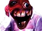 Sticker risitas creepy mouchoir isssou aya omg monstre difforme