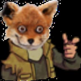Sticker jvc rex ryder rider renard fox