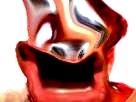 Sticker risitas difforme omg bizarre difforme enfer bizarre demon issou