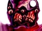 Sticker risitas creepy bizarre aya bordel omg demon issou monstre difforme