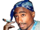 Sticker other tupac joint fume