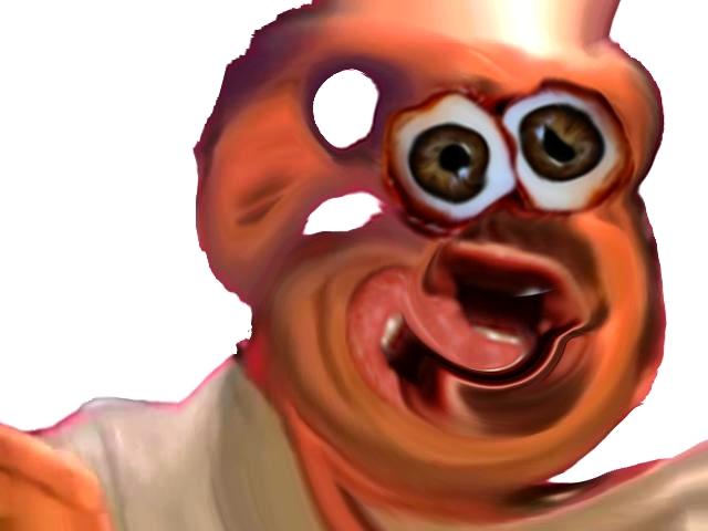 Sticker risitas difforme monstre bizarre bordel aya yeux immonde eussou