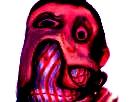 Sticker risitas creepy monstre bordel issou aya demon eussy bizarre omg