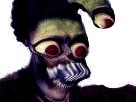 Sticker risitas creepy jesus omg monstre bizarre aya bordel issou difforme
