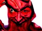 Sticker risitas demon omg bordel monstre enfer bizarre aya difforme immonde issou
