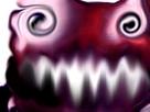 Sticker risitas creepy bizarre aya omg demoniaque issou