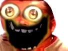 Sticker risitas monstre creepy bizarre aya omg demon issou