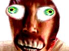 Sticker risitas bordel creepy monstre issoy aya bizarre issou