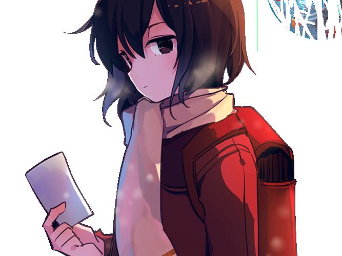 Sticker kikoojap kayo erased regard anime papier