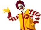Sticker other ronald mcdonald macdonald macdo krankin clown