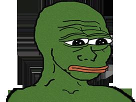 Sticker other wojak 4chan kek pepe grenouille vert tfw no gf feels