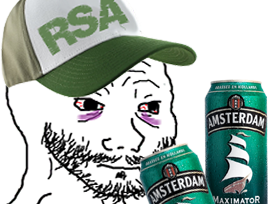 Sticker other wojak 4chan kek rsa biere maximator amsterdam saoul ivrogne clodo prolo