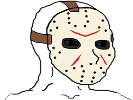 Sticker other wojak 4chan kek freddy vendredi 13 friday masque hockey tueur assassin