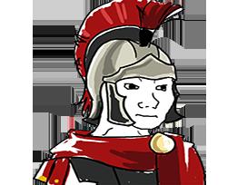 Sticker other wojak 4chan kek gladiateur guerrier rome romain soldat garde