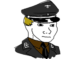 Sticker other wojak 4chan kek nazi adolf hitler ss guerre mondiale waffen