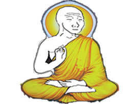 Sticker other wojak 4chan kek voyageur aventurier touriste randonnee zen spirituel detente bonheur joie meditation bouddha