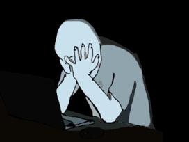 Sticker other wojak 4chan kek ordinateur forum nuit gouffre sombre obscur seul noir chomage rsa galere desespoir depression solitude deprime suicide