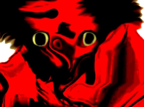 Sticker risitas jesus bizarre difforme monstre omg aya issou immonde bordel issou