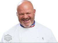 Sticker other etchebest enfer chauve diable cuisine cuisto chef rire mechant alpha