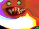 Sticker risitas creepy bizarre aya bordel omg demon issou tordu