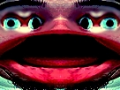 Sticker jvc monstre creepy bizarre aya omg bordel issou thibault putadelsister