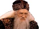 Sticker other dumbledore harry potter professeur directeur souriant aimable affable