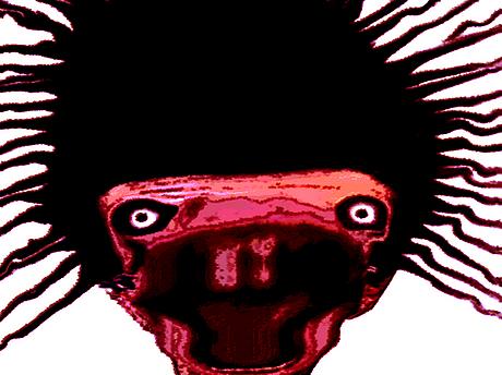 Sticker jvc bizarre immondice difforme monstre aya bassam