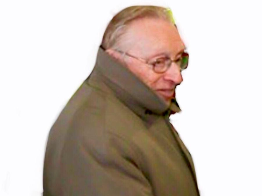 Sticker larry silverstein manteau incognito discret camoufle cache censure profil chance zoom