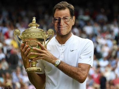 Sticker other larry federer tennis chance grand chelem wimbledon australian open us roland garros sport le bol la raquette le pot doper