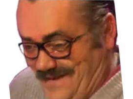 Sticker risitas ahi lunettes faceapp moqueur regard bas rire