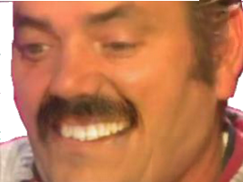 Sticker risitas sourire faceapp dents sournois sadique psychopathe