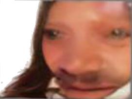 Sticker risitas globule femme faceapp blobfish monstre deforme idiot debile cheveux jeune enfant fille