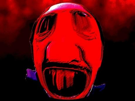 Sticker risitas bernard farcy creepy omg tordu bizarre demon enfer aya taxi issou jvc