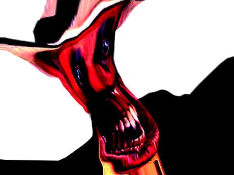 Sticker risitas creepy satan omg bordel creepy issou bordel issou
