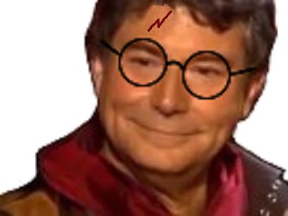 Sticker harry jesus quintero potter issou delire lunettes sorcier magicien