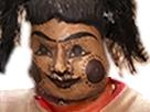 Sticker risitas marionnette creepy poupee peur vaudou