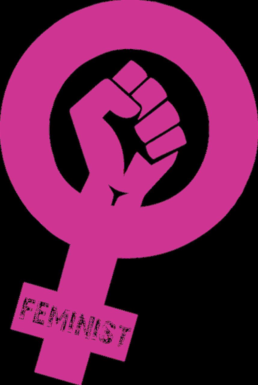 Sticker risitas feminisme marion seclin socialisme lutte logo