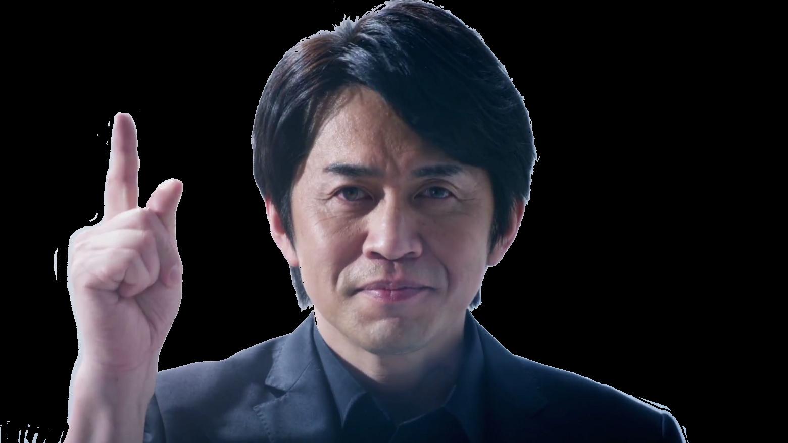 Sticker risitas yoshiaki koizumi nintendo switch doigt leve zelda majoras mask super mario 64 protege de miyamoto
