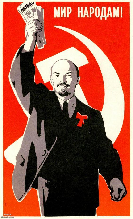 Sticker risitas lenine affiche urss communisme socialisme gauche