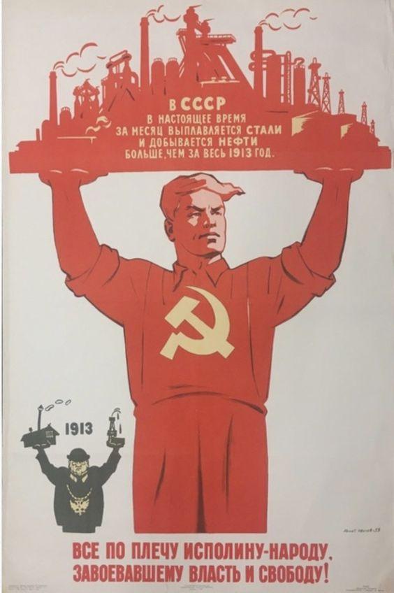 Sticker risitas urss communisme bolchevique revolution staline usine patron
