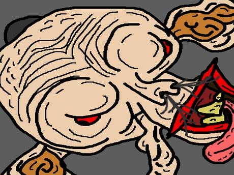 Sticker jvc bizarre kannach dessin immonde creator omg monstre