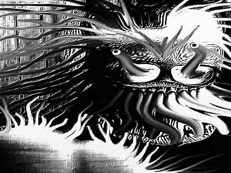 Sticker jvc kannach difforme omg bizarre immondice abomination monstre