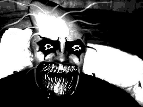Sticker jvc kannach monstre abomination tordu bizarre omg