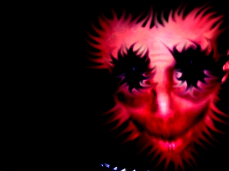 Sticker jvc bizarre creepy kannach monstre difforme abomination