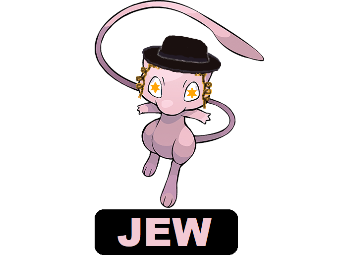 Sticker mew jew pokefeuj psy rabbin juif pokemon