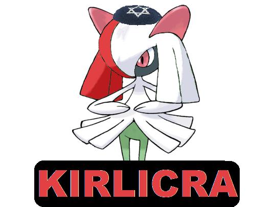 Sticker kirlia licra kirlicra pokemon pokefeuj psy juif kippa