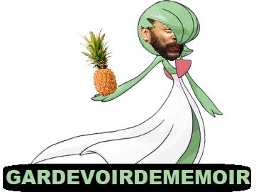 Sticker gardevoirdememoire shoah ananas dieudonne pokemon pokefeuj juif