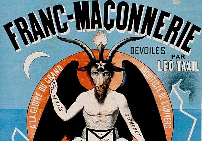 Sticker risitas franc macon macon maconnerie gnose mystique savoir secret religion diable demon satan lucifer